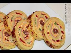 Rulada de cascaval - Rulada aperitiv Adygio Kitchen - YouTube Doughnut, Ice Cream, Breakfast, Cake, Desserts, Recipes, Parmezan, Food, Rest
