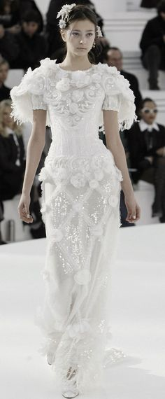 Chanel Haute Couture Spring 2006.