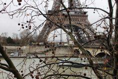 The Eiffel Tower - Paris, France - February 2014