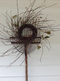Wild Birch Twig Wreath available on ebay seller: greenman525 & etsy shop: The Naturals Wholesale available as well. Find us on Facebook, The Naturals!