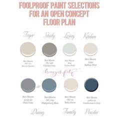 My foolproof, work anywhere paint selections for an open concept home #ontheblog #Padgram