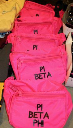 Pi Phi fanny packs! #piphi #pibetaphi