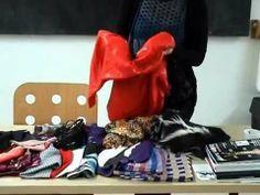 Sunand Koning geeft les in modeontwerpen aan de Modevakopleiding Hermsen, Janssen en Schuurman. Arnhem maart 2014