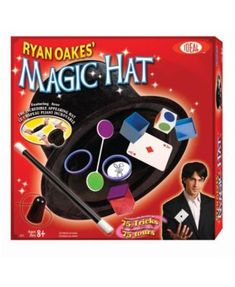 POOF-Slinky Ideal Ryan Oakes Collapsible Magic Hat Set with Magic Wand and Secrets of Amazing Magic Tricks Booklet. Recommended for children of age and older Amazing Magic Tricks, Magic Tricks For Kids, Magic Tricks Illusions, Slinky Toy, Magic Sets, Ideal Toys, Card Tricks, Magic Cards, Tours
