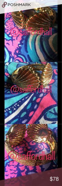 💝NWT Lilly Pulitzer Bracelet Cuff Seashells Cryst 💝NWT Lilly Pulitzer Bracelet Cuff Seashells Crystals💝 Lilly Pulitzer Jewelry Bracelets