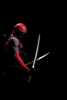 Deadpool Sword Wallpaper. #deadpool #iphone #wallpaper