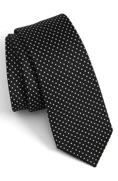 The Tie Bar Woven Silk Tie available at #Nordstrom. For hubby...