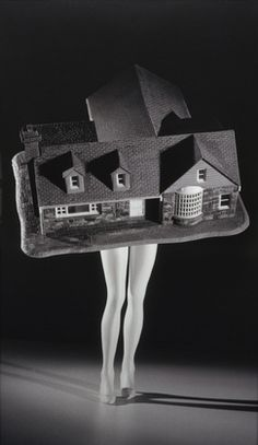 Walking House, 1989 by Laurie Simmons.