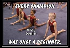 Inspirational Quotes About Strength :Gymnastics Motivation Poster Gabby Douglas Champion Gymnast Photo Quote Wall Art. Volleyball Workouts, Gymnastics Workout, Olympic Gymnastics, Beach Volleyball, Olympic Games, Gymnastics Funny, Gymnastics Problems, Tumbling Gymnastics, Gymnastics Stuff