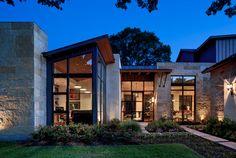 Royal Gardens - contemporary - exterior - dallas - James D. LaRue Architects