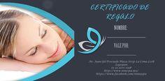 Certificado de regalo #ninespa