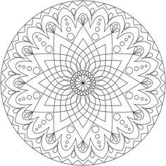 Resultado de imagem para mandalas para colorir
