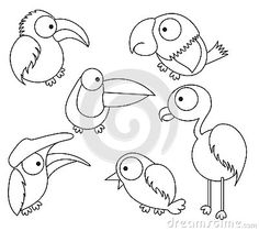 bird drawing for kidvector is eps10 - Picture Of Drawing For Kid
