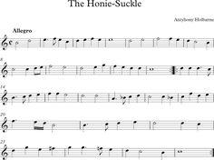 The Honey Suckle. Renacimiento.