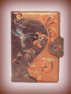Real Leather  Filofax Cover /Refillable  Journal /Day Planner