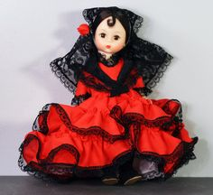Spain Madame Alexander International Doll 595