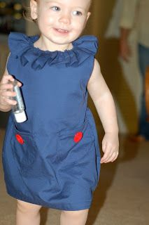 Sew Much Love: Ruffle Collar Dress Tutorial