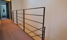 Garde-corps d'intérieur / en métal / à barreaux / pour mezzanine - GCM001 - KOZAC