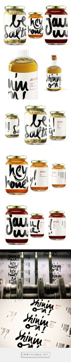 Hey Honey! Jam Me! Be Salty! Shinin'on! - Packaging of the World - Creative Package Design Gallery