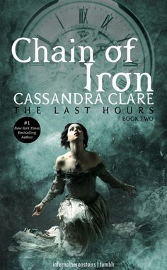 the cover for book two of TLH ~ Chain of Iron