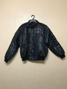 vintage racing jacket. mechanic jacket. work jacket. by june22nd