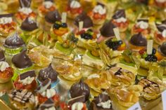 the large dessert buffet with a great selection of tasty sweet treats finishes of Wednesday's gala dinner.