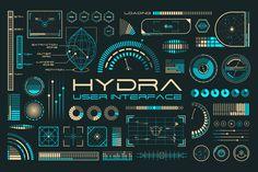 Hydra UI by Tugcu Design Co. on Creative Market