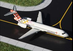 """1/400 Gemini Jets Volotea Boeing 717-200 Registration: EC-LQS GJVOE1324 IN STOCK - item usually ships within 24 hours *LAST ONE Length 3.72"""" Wingspan 2.81"""" Each model is very collectible and all regul"""