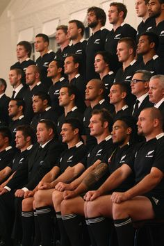 New Zealand All Blacks Portrait Session