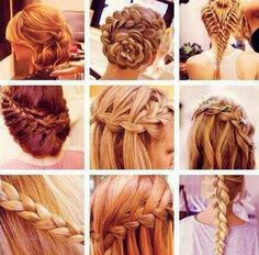 Beautiful braid hairstyles