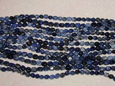 GEMSTONE-SODALITE-LOOSE STONE BEADS-TUMBLED PEBBLE-20 COUNT-$3.99 | eBay