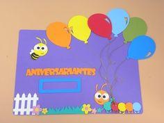 Painel de Aniversariantes do mês www.petilola.com.br