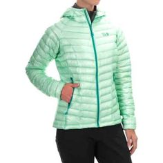 Deal of the Day from: Sierra Trading Post Mountain Hardwear Ghost Whisperer Q.Shield(R) Down Hooded Jacket - 800 Fill Power (For Women)  $129.99 - 63% Off Retail