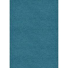 Urso Tapis shaggy bleu 140x200cm