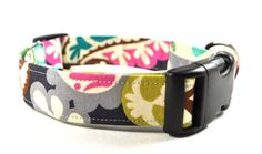 Floral Dog Collar  The Tori by CollarsByDesign on Etsy, $16.50