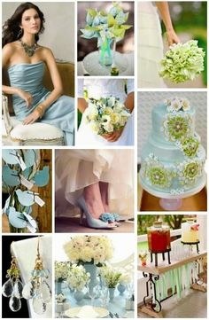Inspirational Moments #5: Seaside Blue and Green - see more inspiration at diyweddingsmag.com #diywedding