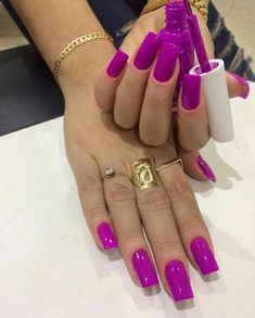 What Christmas manicure to choose for a festive mood - My Nails Trendy Nails, Cute Nails, Hair And Nails, My Nails, Oval Nails, Magenta Nails, American Nails, Powder Nails, Square Nails
