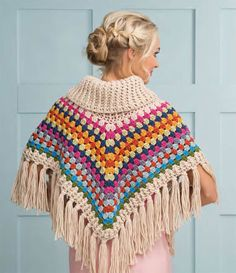 from Simply crochet issue 25 december 2014 Crochet Prayer Shawls, Crochet Shawl, Knit Crochet, Simply Crochet, Crochet Scarves, Crochet Sweaters, Handicraft, Crochet Patterns, Embroidery