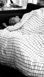 Imagine walking into the room to watch a movie with Calum but he's so tired he fell asleep.