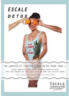 Offre spéciale Détox d'après fêtes, pour se remettre en beauté  !!!  http://www.escalebordeaux.fr/detox-post-fetes/