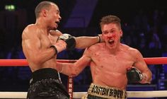 Boxer Nick Blackwell in Induced Come After Defeat to Chris Eubank Jr. for British Title - http://www.tsmplug.com/boxing/52923/