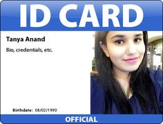 Make your own ID card, press pass, name tag, or any other kind of identification.
