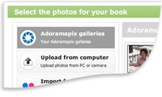 AdoramaPix PhotoBooks.  Their books lay flat when open, and they offer 12x12 options.  The Daily Digi had a good experience with them.  Nice!