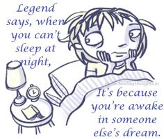 sleepless quotes   Legend About Sleeplessness