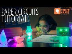 Make Paper Circuit LED Lanterns - Tinker Crate Project Instructions - WordPress Sitesi Led Projects, Electrical Projects, Science Projects, Projects For Kids, Electrical Engineering, Electronics Projects, Circuit Crafts, Circuit Projects, Paper Circuit