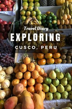 Exploring Cusco, Peru: Day 2