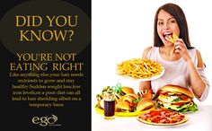 #DidYouKnow ? YOU'RE NOT EATING RIGHT... #Bangalore #EgoWellness