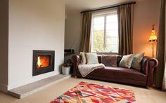 Cosy living room at Ruan Dinas, Sleeps 6, Roundwood Quay, Falmouth - www.millyandmartha.com/ruandinas