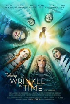 A Wrinkle in Time Trailer: Defeat the Darkness Become the Light Be a Warrior #WrinkleinTime