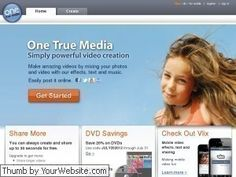 <p>One True Media makes video creation fun, easy and free. Mix your video and photos with our effects, text and music and post to Facebook, YouTube, Twitter and ...</p>